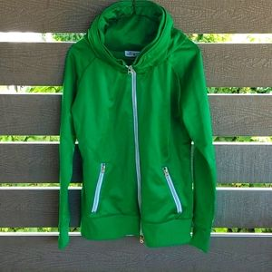 Parasuco women's Short Jacket with Hood green L